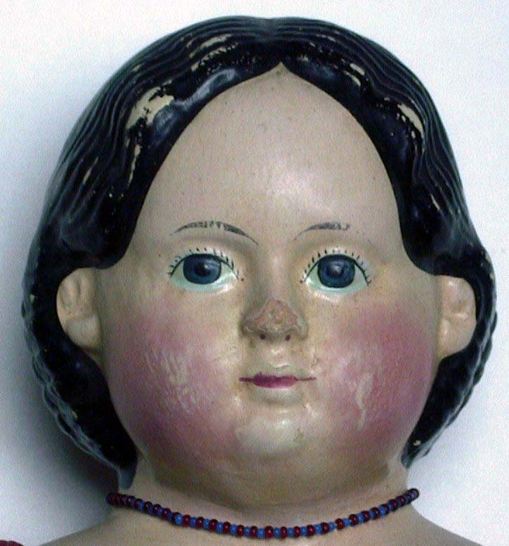 Lolly's original Antique Greiner Doll