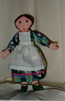 My first cloth doll