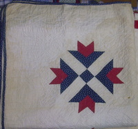wonderful quilting pattern but frail cotton
